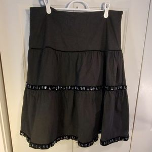 Old Navy Black Skirt Size 12
